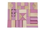 Picture of Blokkenset roze-blank Van Dijk Toys