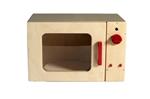 Picture of Speel- kinderkeuken-Kleuter Magnetron blank hout 40x 30x 25 cm Van Dijk Toys