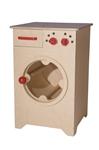 Picture of Speel- kinderkeuken-Kleuter Wasmachine blank hout 40x 40x 61 cm Van Dijk Toys