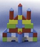 Picture of Bouw-blokken - Gekleurde blokken startset (30 stuks) HABA