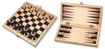 Picture of Schaakspel en Backgammon Klapcassette 29 cm