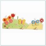 Afbeeldingen van Kapstok vlinder 3 haken