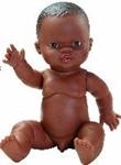 Afbeeldingen van Babypop Gordi Afro Jongen - 34 cm