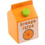 Picture of Houten drank Pakje jus d'orange Bigjigs
