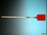 Afbeeldingen van Kinderschop rood met steel
