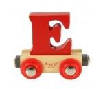Bild von Letter E kleur, naamtrein - lettertrein Bigjigs