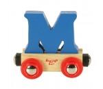 Bild von Letter M kleur, naamtrein - lettertrein Bigjigs