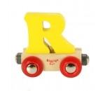 Bild von Letter R kleur, naamtrein - lettertrein Bigjigs