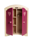 Picture of Poppenkledingkast roze hout  Van Dijk Toys