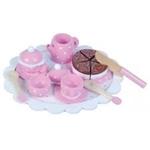 Afbeeldingen van Theeserviesje met taart New Classic Toys