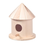 Picture of Vogelhuisje Hout rond 15 x 8,5 cm