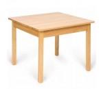 Image de Kindertafel hout, passend bij Bigjigs kinderstoeltjes 60x50x60cm Bigjigs