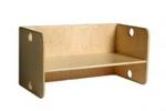 Picture of Peutergroep Kubusbank-kinderbank  hout met blanke zitting groepsgebruik 1-6 jaar Van Dijk Toys