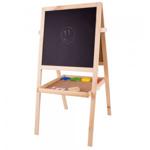 Picture of Schoolbord met magneet- en krijtbord hout Bigjigs