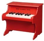 Afbeeldingen van Piano - Rood 18 toetsen New Classic Toys