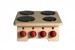 Picture of Speel-kinderkookplaat keuken Hout 35x 35 x 21 cm Van Dijk Toys