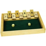 Afbeeldingen van Shut the box dobbelspel Bigjigs