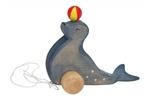 Afbeeldingen van Trekdier zeehond met bal Ostheimer Ostheimer
