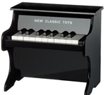 Picture of Piano - Zwart 18 toetsen New Classic Toys