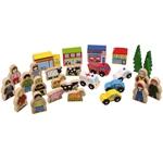 Picture of Accessoires voor de treinbaan - Bigjigs