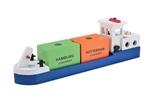 Afbeeldingen van Havenlijn Barge, Binnenvaartschip, Rijnaak New Classic Toys