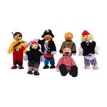 Bild von Poppenhuispopjesset piraten - Bigjigs