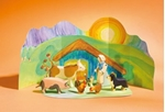 Afbeeldingen van Speelset boerderij met diorama 8 pcs Ostheimer
