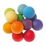 Afbeeldingen van Grimm's Bijt- en Grijpketting gekleurde ballen