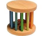 Afbeeldingen van Grimm's mini roller Rammelaar regenboog