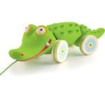 Afbeeldingen van Trekfiguur Croc'n'roll krokodil Djeco