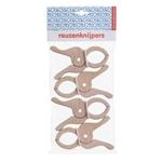 Bild von Reuzen knijpers set van 4 stuks Berkenmultiplex