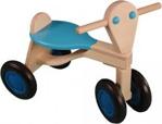 Bild von Loopfiets berken hout licht blauw Van Dijk Toys vierwieler kinderfiets
