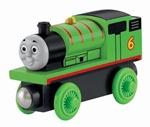 Image de Thomas houten treinbaan lokomotief Percy