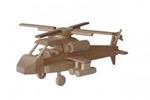 Picture of Moderne helicopter 31 cm 100% beukenhout