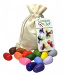 Afbeeldingen van Kleurkrijt wasco Soja Cotton Muslin 16 kleuren - Crayon Rocks