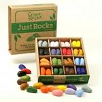 Image de Kleurkrijt wasco Soja Crayonbox 4 x 16 kleuren - Crayon Rocks