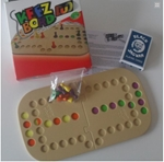Picture of Keez bord duo kunststof puzzelvorm 2-pers