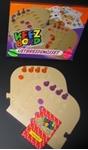 Picture of Keez bord kunststof puzzelvorm aanvull 4-6 pers. kunststof