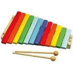Image de Xylofoon hout gekleurd 12 toons Bigjigs