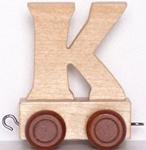 Image de Lettertrein blank K