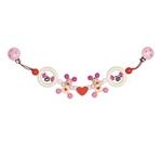 Afbeeldingen van Wagenspanner muisjes hart roze Heimess