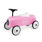 Afbeeldingen van Racer Loopauto metaal roze Baghera