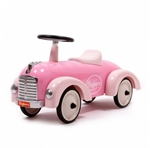 Afbeeldingen van Speedster Loopauto metaal Prinses roze Baghera