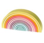 Image de Regenboog pastel groot 36 cm 12-delig Grimm's