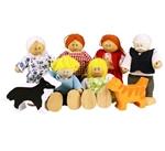 Bild von Poppenhuispoppetjes Familie