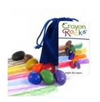 Image de Kleurkrijt wasco Soja Bleu Velvet 8 kleuren - Crayon Rocks