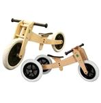 Image de Wishbonebike Original houten 3-in-1 Loopfiets incl. gratis zadelhoes