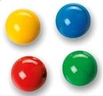 Image de Fagus 4 gekleurde knikkers voor knikkerbaan XL en XXL
