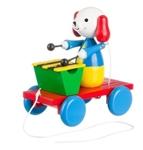 Picture of trekfiguur xylofoon hond