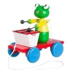 Picture of Trekfiguur xylofoon kikker groen